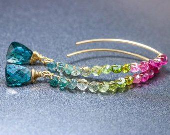Petite and Threader Earrings