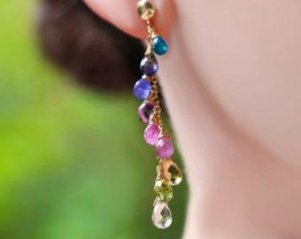 Dangle and Hoop Earrings