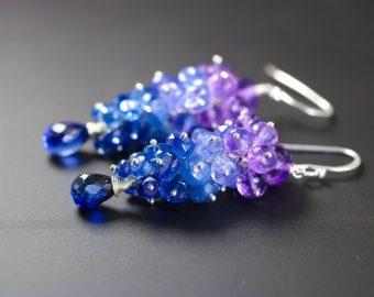 Short Cluster Earrings